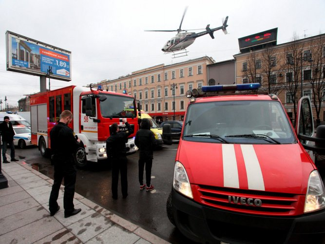 Unexploded device found at second St. Petersburg metro station