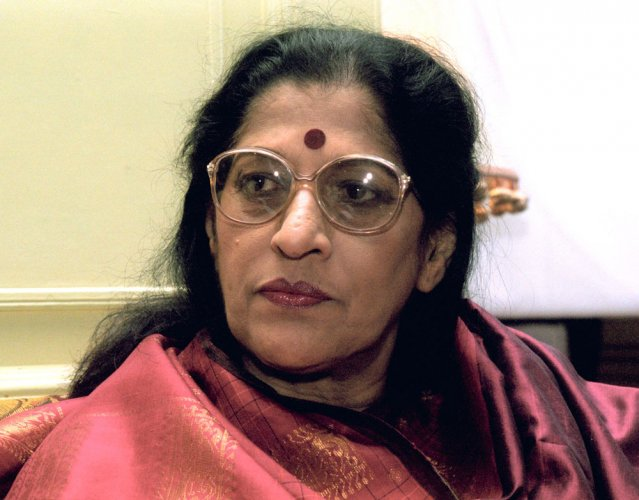 Amonkar to be cremated today; PM condoles her demise