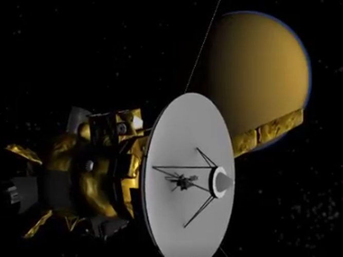 NASA's Saturn probe begins 'Grand Finale' of 20-year journey