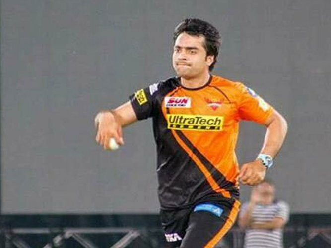Rashid becomes first Afghan player to make IPL debut