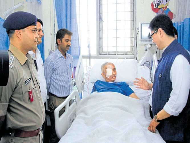 CRPF commandant recovers  after nearly 2 months in coma