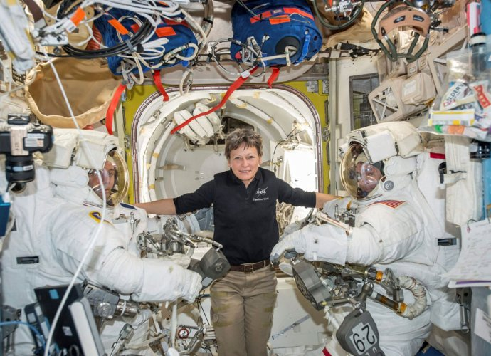NASA's Peggy Whitson record-breaking space mission extended