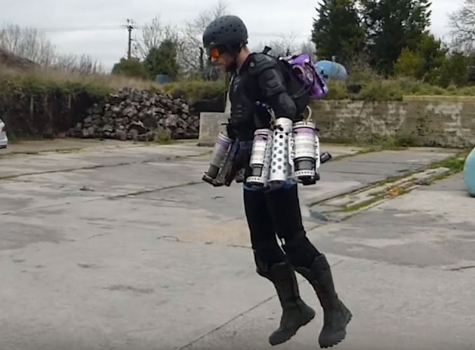 Watch: New 'Iron Man suit' lets you hover in air!