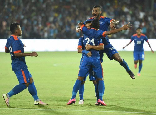 India rise to 101 in FIFA rankings, best-ever in two decades