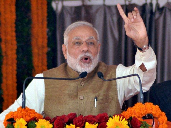 Fight against corruption and black money will continue: Modi
