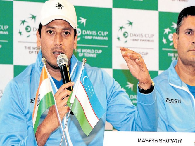 Bhupathi sticks to his stand