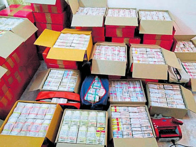 Rs 5.5 cr recovered in I-T raids on TN Health Minister, others