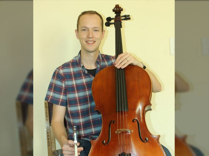 'I found a connection to the cello'