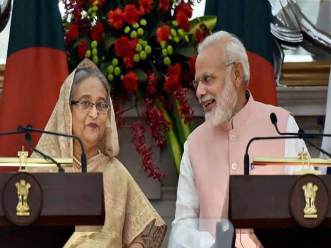 Hasina put behind personal loss, took Bangla on path of success: Modi