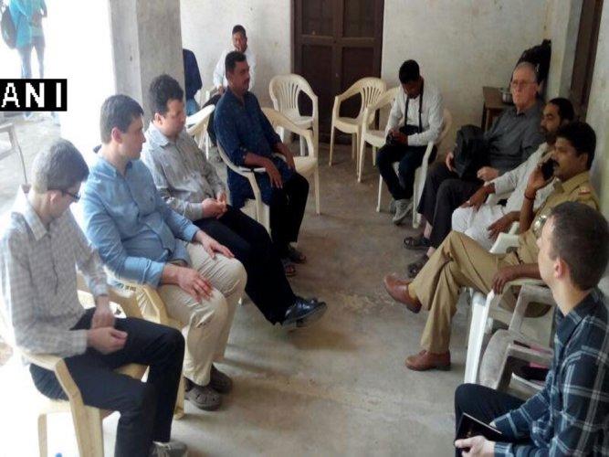 Yogi's Yuva Vahini alleges 'conversion' at church