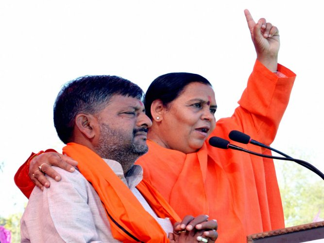 Ready to go to jail for Ram Temple, says Uma