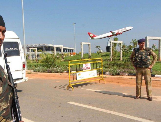 CISF staff at airport say market too far, seek travel allowance