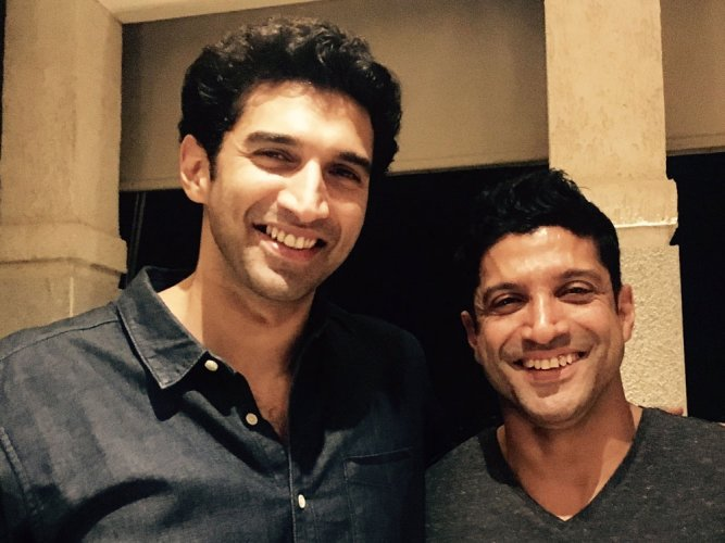 Farhan Akhtar rubbishes rumours of fight with Aditya Roy Kapur