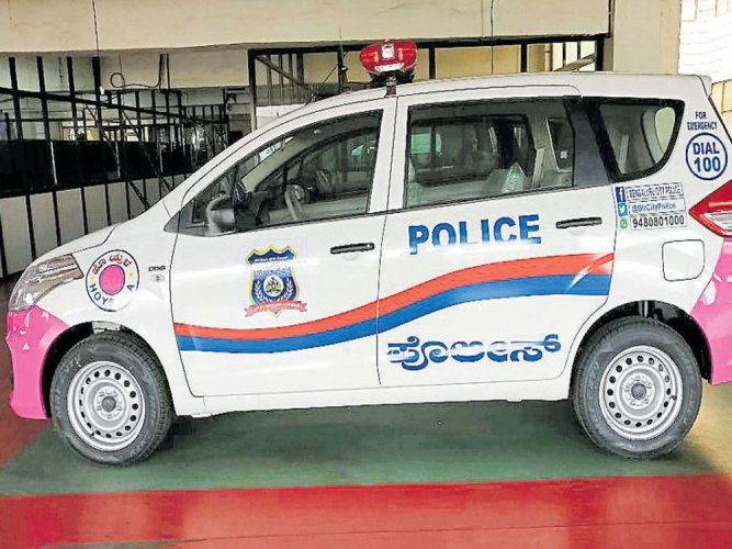 Pink Hoysalas for women, child safety to hit B'luru roads today