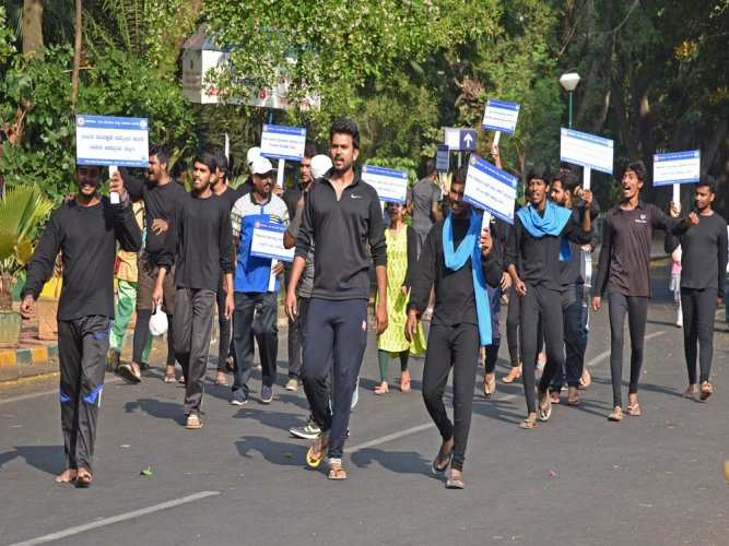 B'luru Water Warriors drums up support for water conservation