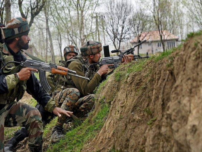 Infiltration bid foiled in Kashmir; 4 militants killed