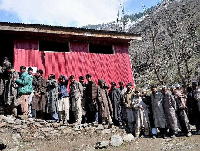 MHA blames EC for poor turnout in Srinagar bypolls
