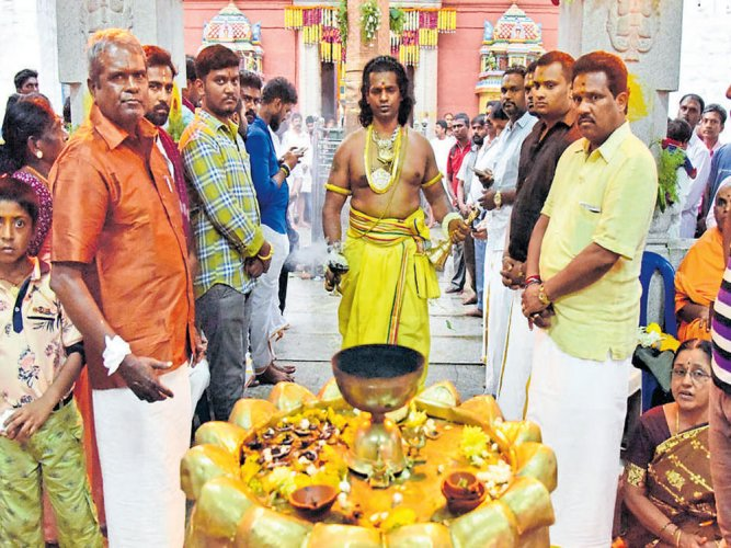 Karaga procession to be taken out midnight today