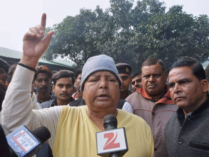 Lalu charged with another land scam