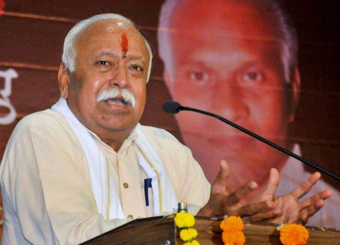 RSS chief Bhagwat calls for Ram temple again