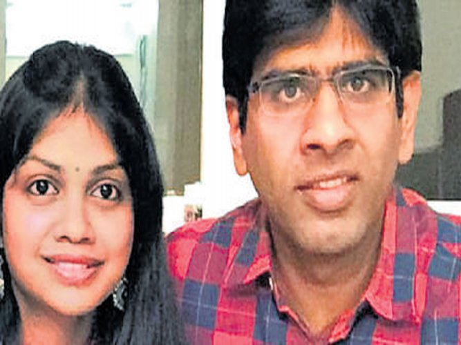 Techie's death: Wife denies role
