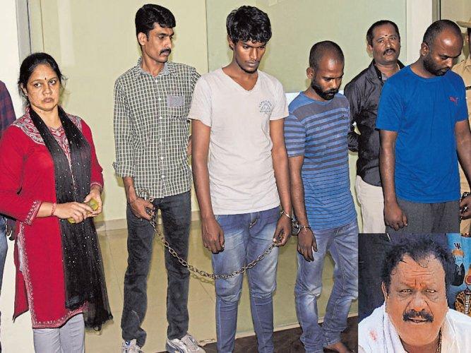 Woman hires killers to bump off 'philanderer' husband