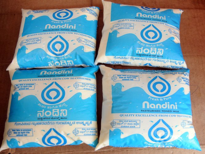 1.15 lakh litres of Nandini milk sold daily in Mumbai