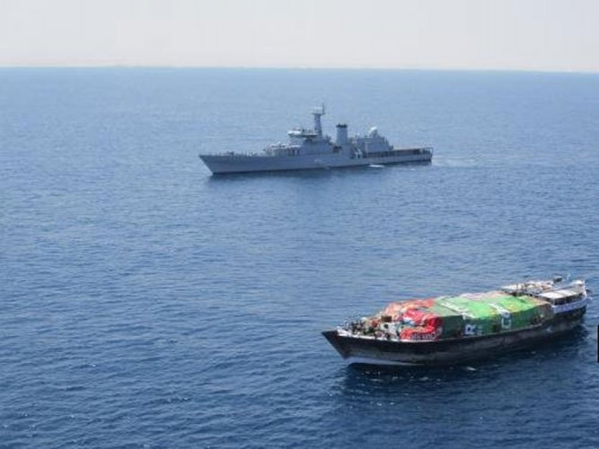 Navy takes control of vessel hijacked by pirates