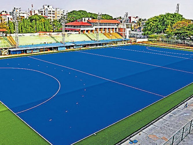 Hockey stadium turf to be inaugurated on April 20