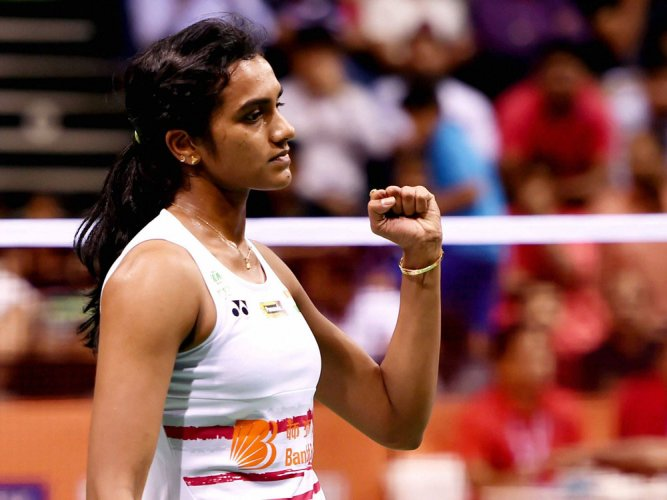 Sindhu to take on Marin in quarters
