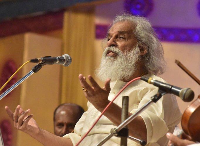 Music is beyond religion: K J Yesudas