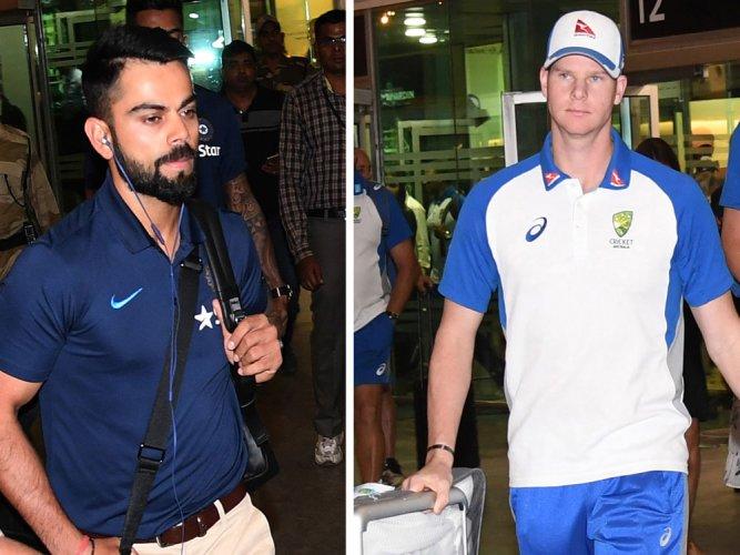 Kohli-Smith rivalry to spice-up Sunday night's clash