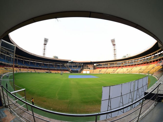 Chinnaswamy pitch goes 'dry'