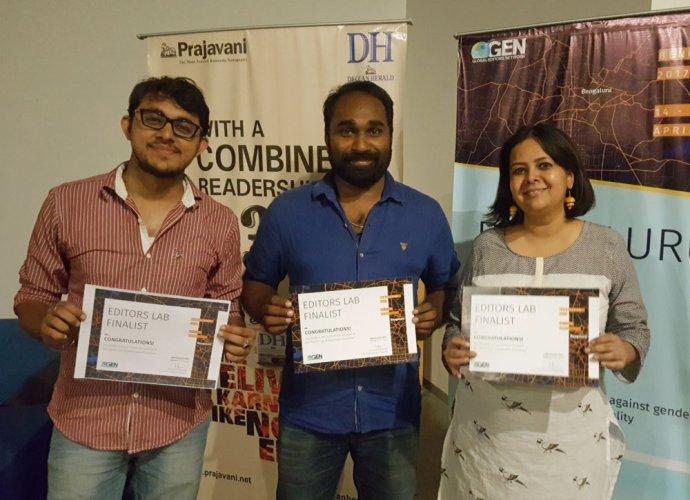 FactorDaily team wins Bengaluru Editors Lab hackathon