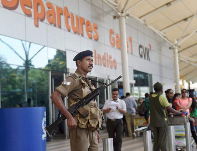 High alert at 3 airports after hijack threat