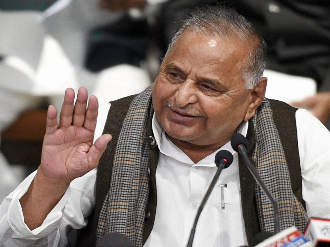 Mulayam says SP does not need 'grand alliance' to counter BJP