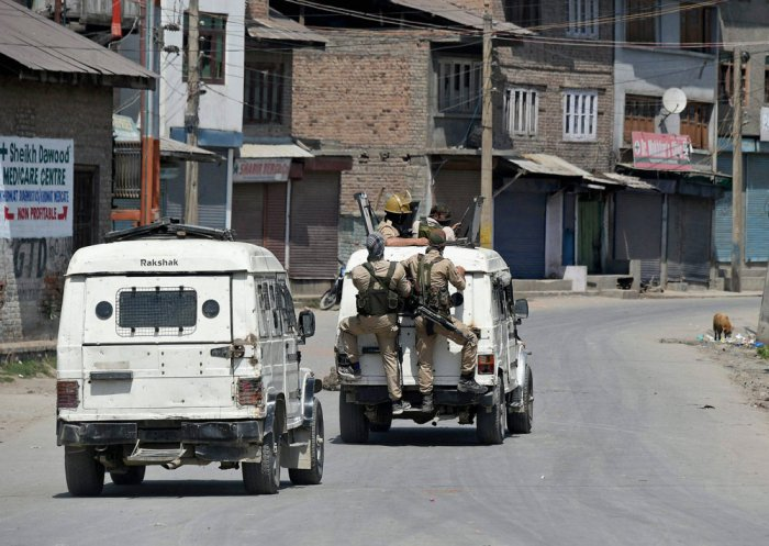 Youth injured in firing during strike