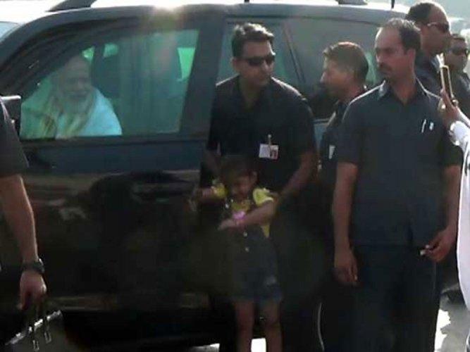 When Modi broke security protocol to meet his big 'little fan'