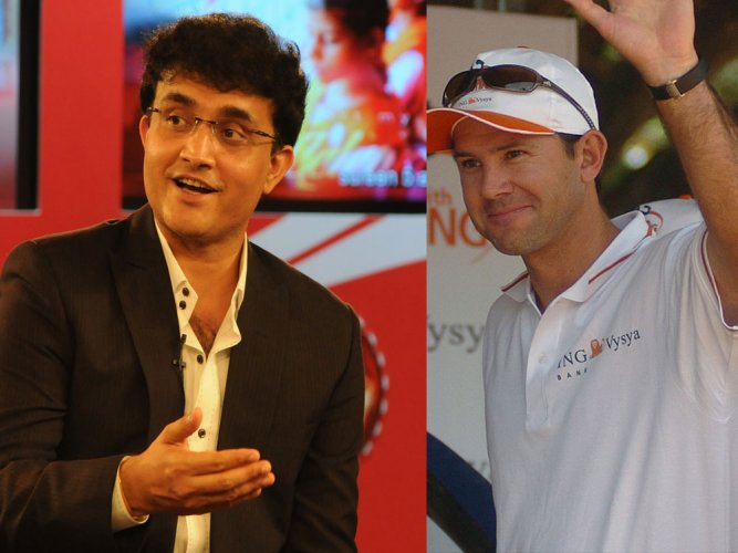 Ganguly, Ponting among commentators for Champions Trophy