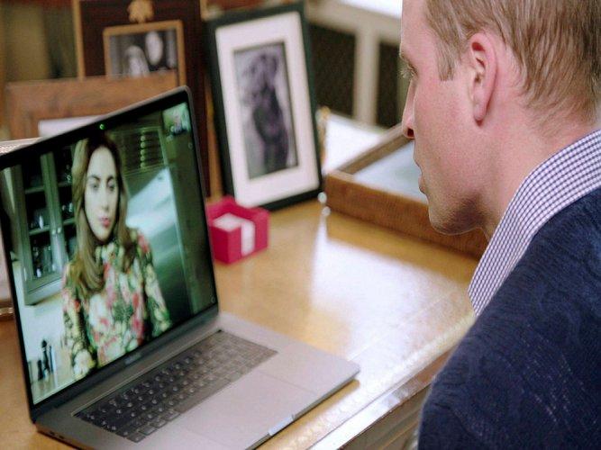 Prince William, Lady Gaga promote mental health awareness