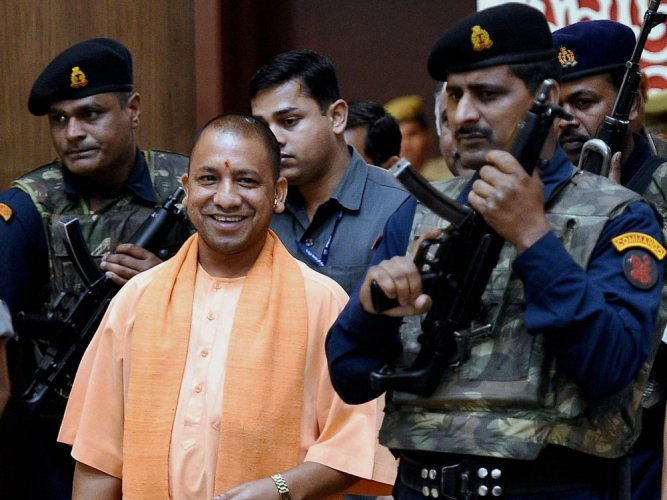 Yogi for 'Make in UP' on lines of 'Make in India' campaign