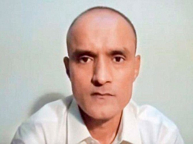 HC says Centre taking steps to secure Jadhav's release