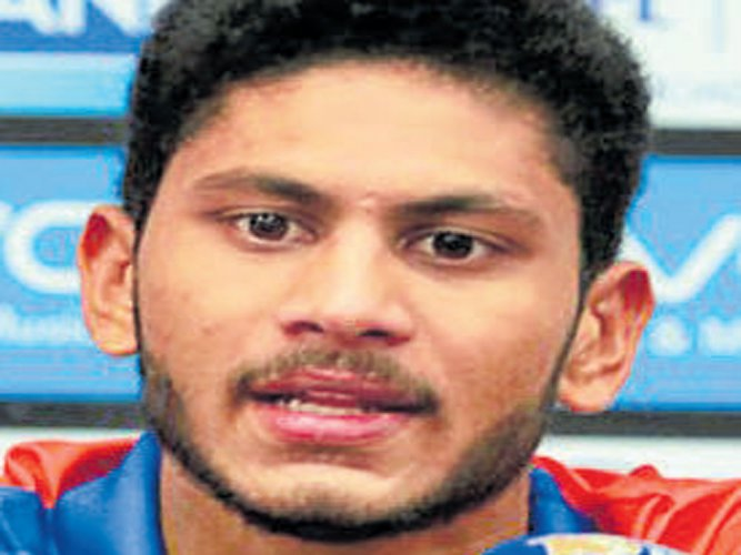 Thampi over the moon after scalping big Gayle