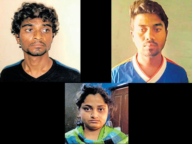 Girl, 2 aides held for kidnapping friend