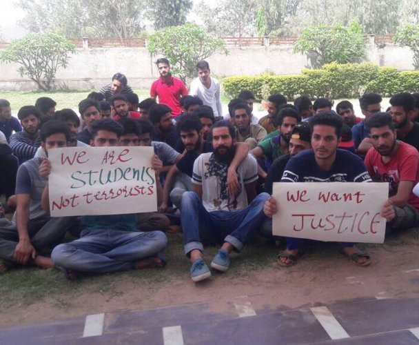 Kashmiri students thrashed outside Mewar University in Chittorgarh district