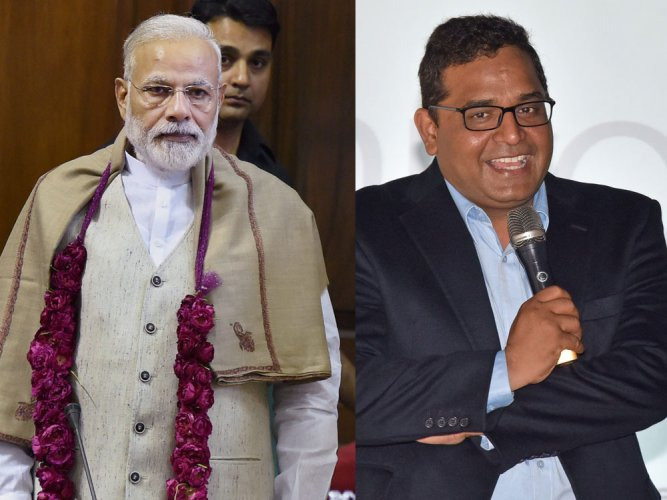Modi, Paytm founder in Time's 'most influential people list'