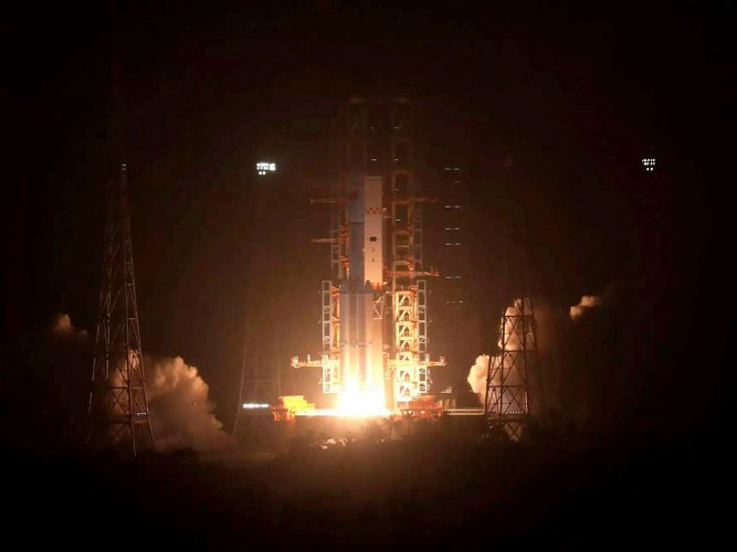 China successfully launches first cargo spacecraft