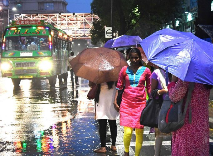 Rain brings chill in air, today could be no different
