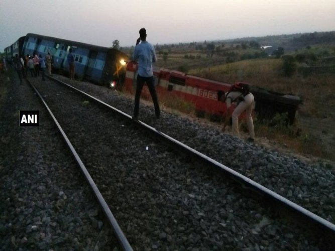Passenger train derails in Karnataka, none hurt