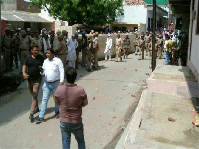 MP, SSP injured in clash between two communities in UP